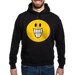 Grinning Smiley Hoodie (dark)