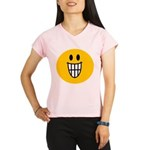 Grinning Smiley Performance Dry T-Shirt