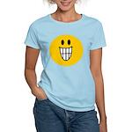 Grinning Smiley Women's Light T-Shirt