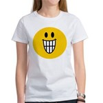 Grinning Smiley Women's T-Shirt