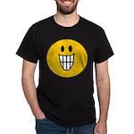 Grinning Smiley Dark T-Shirt