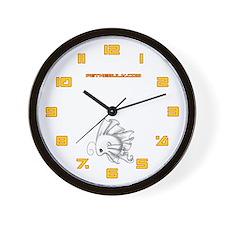 White Fiishii Wall Clock