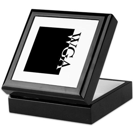 WGA Typography Keepsake Box