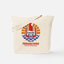 """""""French Polynesia COA"""" Tote Bag"""