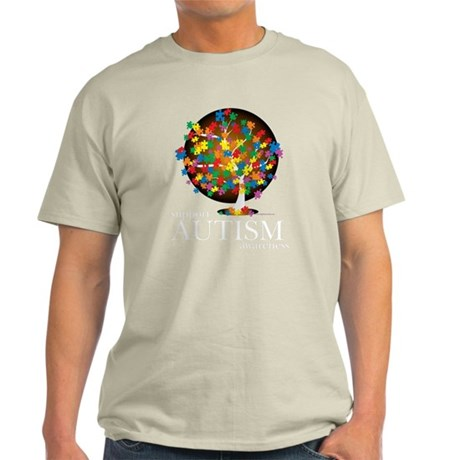 Autism-Tree-blk T-Shirt