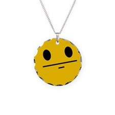 Poker Face Smiley Necklace
