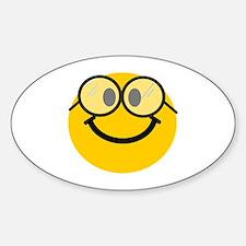 Geek Smiley Decal