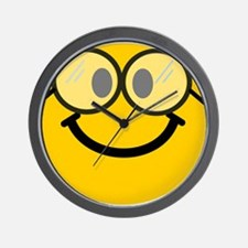 Geek Smiley Wall Clock