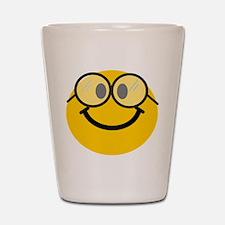 Geek Smiley Shot Glass