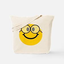 Geek Smiley Tote Bag