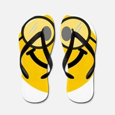 Geek Smiley Flip Flops