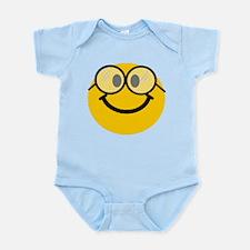 Geek Smiley Infant Bodysuit