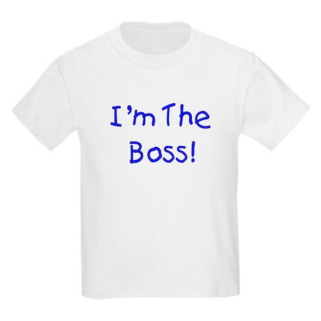 I'm The Boss (Kids) Kids T-Shirt