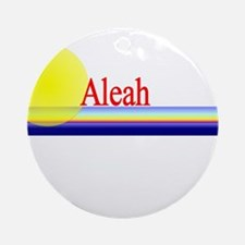 Aleah Ornament (Round)