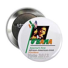 """O'Bama Af-Am-Ire 2.25"""" Button"""