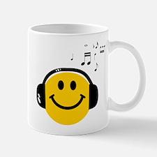 Music Loving Smiley Mug