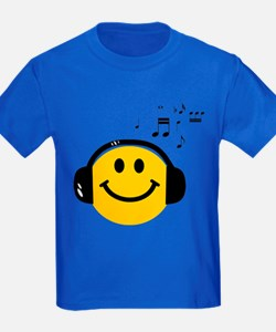 Music Loving Smiley T