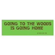Muir's Woods Car Sticker