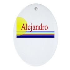 Alejandro Oval Ornament