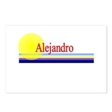Alejandro Postcards (Package of 8)