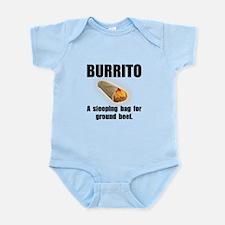 Burrito Sleeping Bag Infant Bodysuit