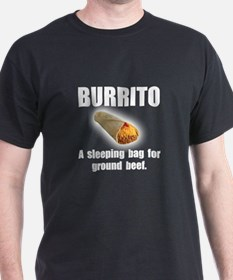 Burrito Sleeping Bag T-Shirt