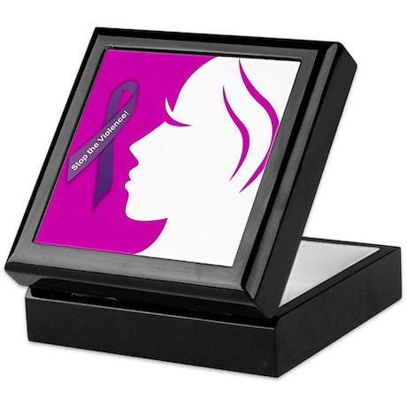 Domestic Violence 1 Keepsake Box