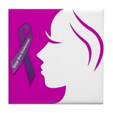 Domestic Violence 1 Tile Coaster