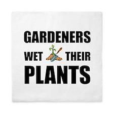Gardeners Wet Plants Queen Duvet