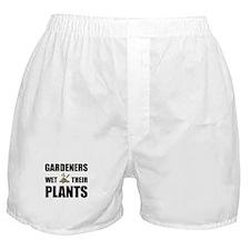 Gardeners Wet Plants Boxer Shorts