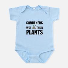 Gardeners Wet Plants Infant Bodysuit