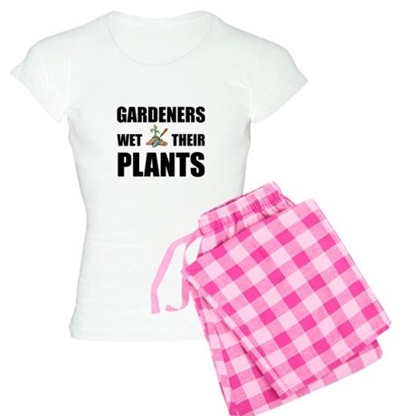 Gardeners Wet Plants Women's Light Pajamas