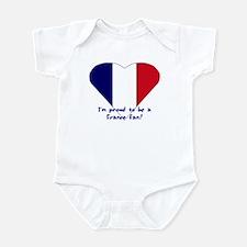 France fan Infant Bodysuit