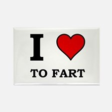 Heart To Fart Rectangle Magnet (10 pack)