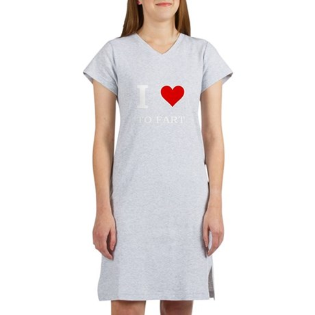 Heart To Fart Women's Nightshirt