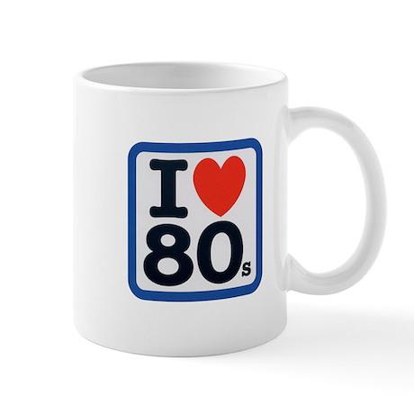 I Heart 80s Mug