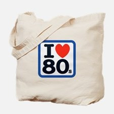 I Heart 80s Tote Bag