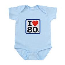 I Heart 80s Infant Bodysuit