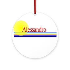 Alessandro Ornament (Round)