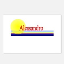 Alessandro Postcards (Package of 8)