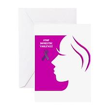 Domestic Violence 2 Greeting Card