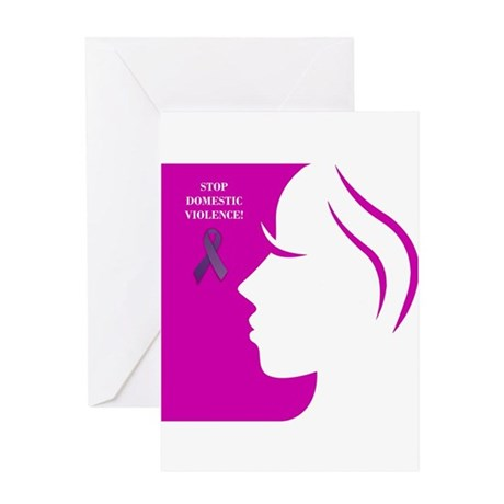 Domestic Violence 2 Greeting Card
