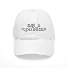 not a republican Baseball Cap