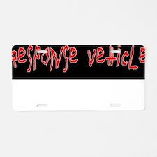 Zombie Apocalypse Aluminum License Plate