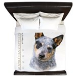 Australian Cattle Dog King Duvet