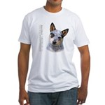 Australian Cattle Dog Fitted T-Shirt