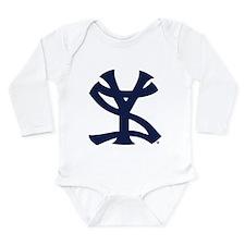 Cute Yankees suck logo Long Sleeve Infant Bodysuit