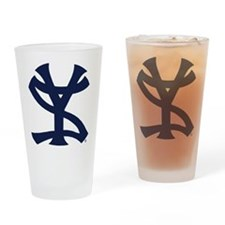 Cute Yankees suck Drinking Glass
