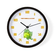 Green Fiishii Wall Clock