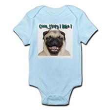 Cute Cool story babe Infant Bodysuit